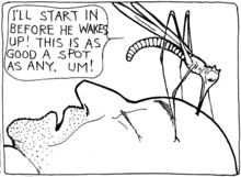 220px-Winsor_McCay_-_Dream_of_the_Rarebit_Fiend_(1909-06-05)_Mosquito_panel_6