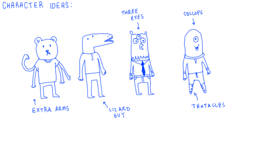 character ideas