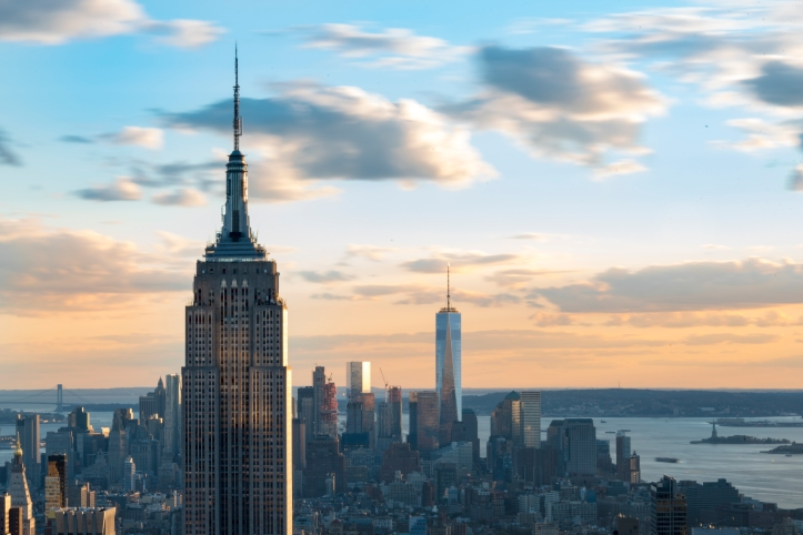 New York landmarks and attractions: Empire State building