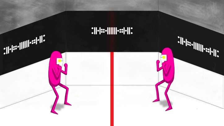 arena (pinkguys ready to fight)